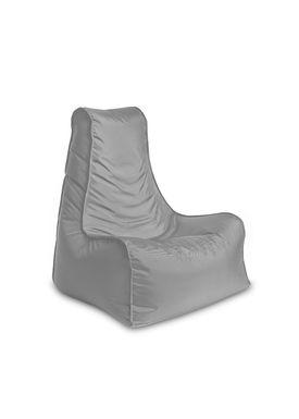X-POUF - Bean Bag - X Chair PVB - Light Grey
