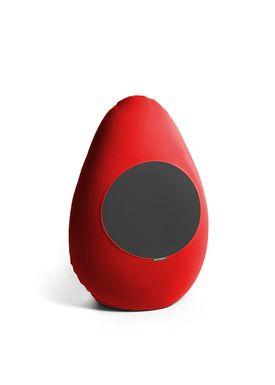 X-POUF - Bean Bag - X-DROP - Red