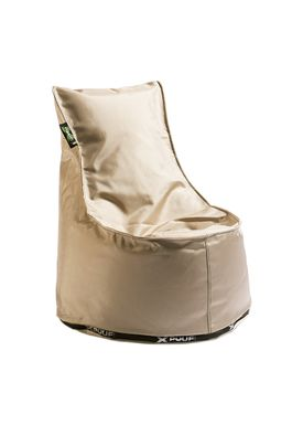 X-POUF - Bean Bag - X Kids Chair - Off-White