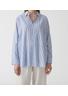 HOPE - Shirt - Elma Shirt Stripe AW19 - Blue Stripe