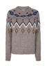 Mos Mosh - Knit - Mira Knit - Taupe Grey Melange