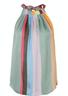 Mos Mosh - Top - Saya Clavo Tie Top - Multi Stripe