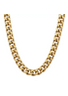 Plissé Copenhagen - Necklace - Punk Chain Necklace Slim - Gold