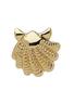 Plissé Copenhagen - Earring - Shell Earring - Gold