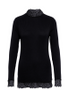 Y.A.S - Blouse - YASElle LS Top - Black