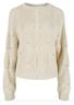 Y.A.S - Knit - Dalia LS Knit Pullover - Cream