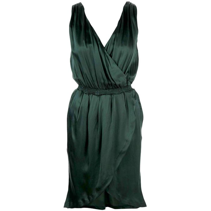 Dress Kjole Draped Silk Pop Cph aHFEzqw